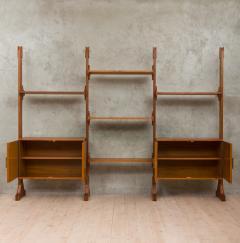 Vittorio Dassi Italian wall unit or room divider in Dassi style - 985472