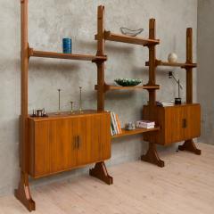 Vittorio Dassi Italian wall unit or room divider in Dassi style - 985474