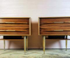 Vittorio Dassi Vittorio Dassi Pair of End Tables Nightstands Italy circa1955 - 1300938