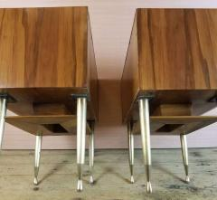 Vittorio Dassi Vittorio Dassi Pair of End Tables Nightstands Italy circa1955 - 1300939