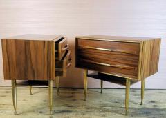 Vittorio Dassi Vittorio Dassi Pair of End Tables Nightstands Italy circa1955 - 1300943