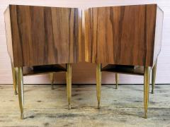 Vittorio Dassi Vittorio Dassi Pair of End Tables Nightstands Italy circa1955 - 1300944