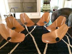 Vittorio Nobili Set of Six Medea Chairs by Vittorio Nobili - 1661469