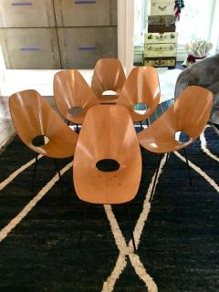 Vittorio Nobili Set of Six Medea Chairs by Vittorio Nobili - 1661470