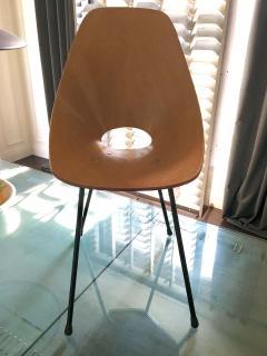 Vittorio Nobili Set of Six Medea Chairs by Vittorio Nobili - 1661472