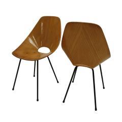 Vittorio Nobili Vittorio Nobili Medea 1950s Italian Set of Four Chairs - 1991973