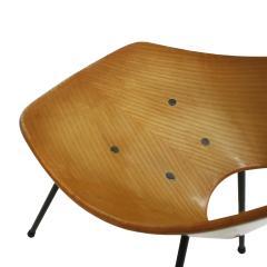 Vittorio Nobili Vittorio Nobili Medea 1950s Italian Set of Four Chairs - 1991977