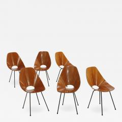 Vittorio Nobili Vittorio Nobili Set of Six Chairs Model Medea Italy 1955 - 681631