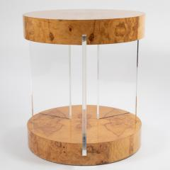 Vladimir Kagan Burl and acrylic center table attributed to Vladimir Kagan circa 1970s - 964505