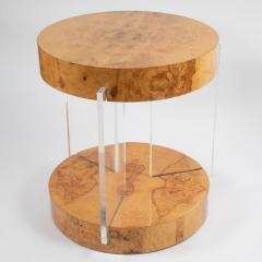 Vladimir Kagan Burl and acrylic center table attributed to Vladimir Kagan circa 1970s - 964508