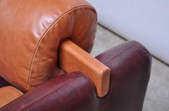 Vladimir Kagan Leather Matinee Sofa Daybed by Vladimir Kagan - 1114236