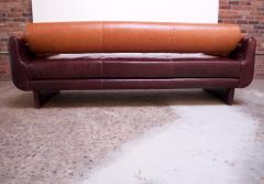 Vladimir Kagan Leather Matinee Sofa Daybed by Vladimir Kagan - 1114241