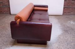 Vladimir Kagan Leather Matinee Sofa Daybed by Vladimir Kagan - 1114244