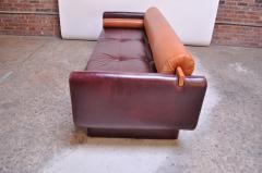 Vladimir Kagan Leather Matinee Sofa Daybed by Vladimir Kagan - 1114249