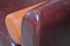 Vladimir Kagan Leather Matinee Sofa Daybed by Vladimir Kagan - 1114250