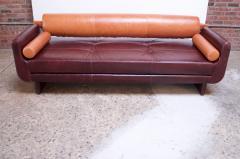 Vladimir Kagan Leather Matinee Sofa Daybed by Vladimir Kagan - 1114251