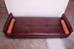 Vladimir Kagan Leather Matinee Sofa Daybed by Vladimir Kagan - 1114253