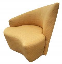 Vladimir Kagan Mid Century Modern Pair of Slipper Swivel Lounge Chairs by Vladimir Kagan - 1946016