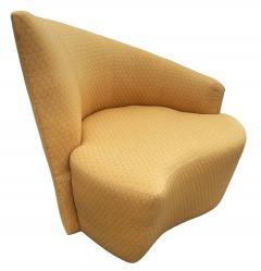 Vladimir Kagan Mid Century Modern Pair of Slipper Swivel Lounge Chairs by Vladimir Kagan - 1946018