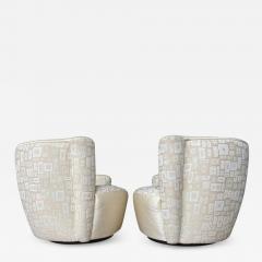 Vladimir Kagan Pair of Mid Century Modern Swivel Lounge Nautilus Chairs by Vladimir Kagan - 1940560