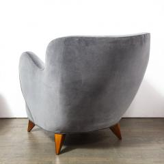Vladimir Kagan Pair of Vladimir Kagan Mid Century Barrel Chairs Designed Documented 1947 - 1950003