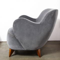 Vladimir Kagan Pair of Vladimir Kagan Mid Century Barrel Chairs Designed Documented 1947 - 1950007