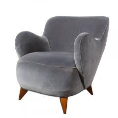 Vladimir Kagan Pair of Vladimir Kagan Mid Century Barrel Chairs Designed Documented 1947 - 1950019