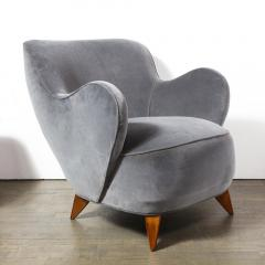 Vladimir Kagan Pair of Vladimir Kagan Mid Century Barrel Chairs Designed Documented 1947 - 1950020