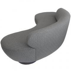 Vladimir Kagan Serpentine Sofa by Vladimir Kagan with Walnut Base for Directional - 181268