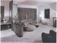 Vladimir Kagan Vladimir Kagan Architectural Louvered Illuminated Room Divider w COA 1967 - 1003188