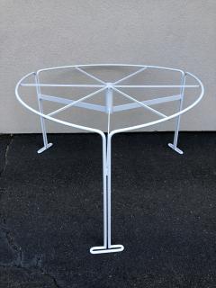 Vladimir Kagan Vladimir Kagan Capricorn Iron Table with six Capricorn chairs - 1954400