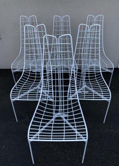 Vladimir Kagan Vladimir Kagan Capricorn Iron Table with six Capricorn chairs - 1954401