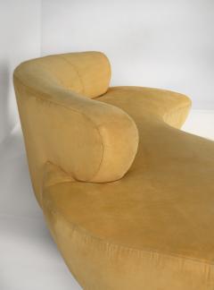 Vladimir Kagan Vladimir Kagan Cloud Sofa for Directional with Oak Pedestal Base - 1725859