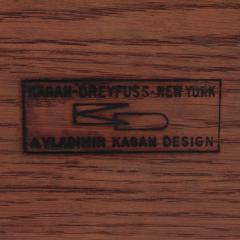 Vladimir Kagan Vladimir Kagan Coffee Table In Oak with Ceramic Tiles 1950s Signed  - 1902431