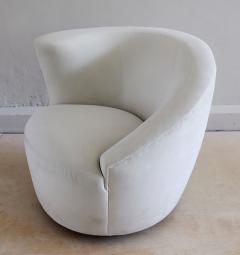 Vladimir Kagan Vladimir Kagan Nautilus Swivel Chair and Ottoman - 2141382