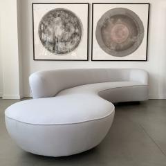 Vladimir Kagan Vladimir Kagan Serpentine Sofa for Directional - 1172696