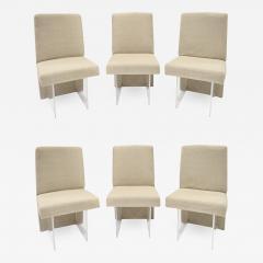 Vladimir Kagan Vladimir Kagan Set of 6 CLOS Dining Chairs 1975 signed  - 1148432