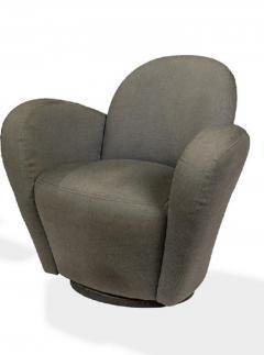 Vladimir Kagan Vladimir Kagan Swivel Lounge Chairs for Directional - 1595592