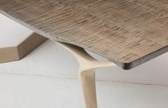 Vladimir Krasnogorov Extendable Dining Table by Vladimir Krasnogorov for Thomas W Newman - 1051301