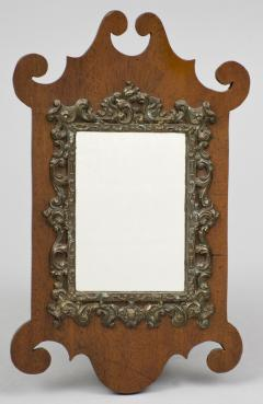 W Badger Antique Miniature Chippendale Mirror Circa 1875 - 1838989