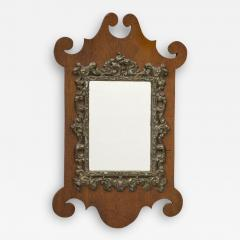 W Badger Antique Miniature Chippendale Mirror Circa 1875 - 1841673