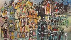 W Carl Burger W Carl Burger Painting Industrial 7  - 1570913