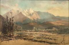 W H M Cox Colorado Rocky Mountains - 2000070