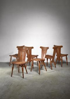 W Kuyper W Kuyper set of 6 Arts Crafts chairs - 1392725