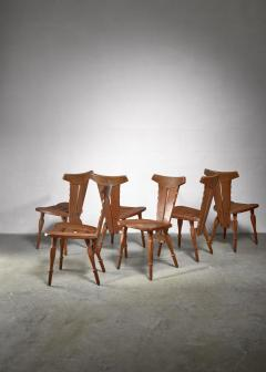 W Kuyper W Kuyper set of 6 Arts Crafts chairs - 1392726