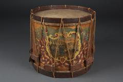 W S Tomkins Painted Ceremonial Parade Drum - 623541