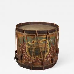 W S Tomkins Painted Ceremonial Parade Drum - 625364