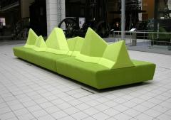 WALKING CHAIR Kohlmaier Manufaktur MONTE BELLO modular mountain range sofa - 974565