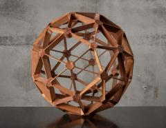 WOOD GEODESIC SCULPTURE - 1018634