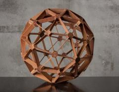 WOOD GEODESIC SCULPTURE - 1018636